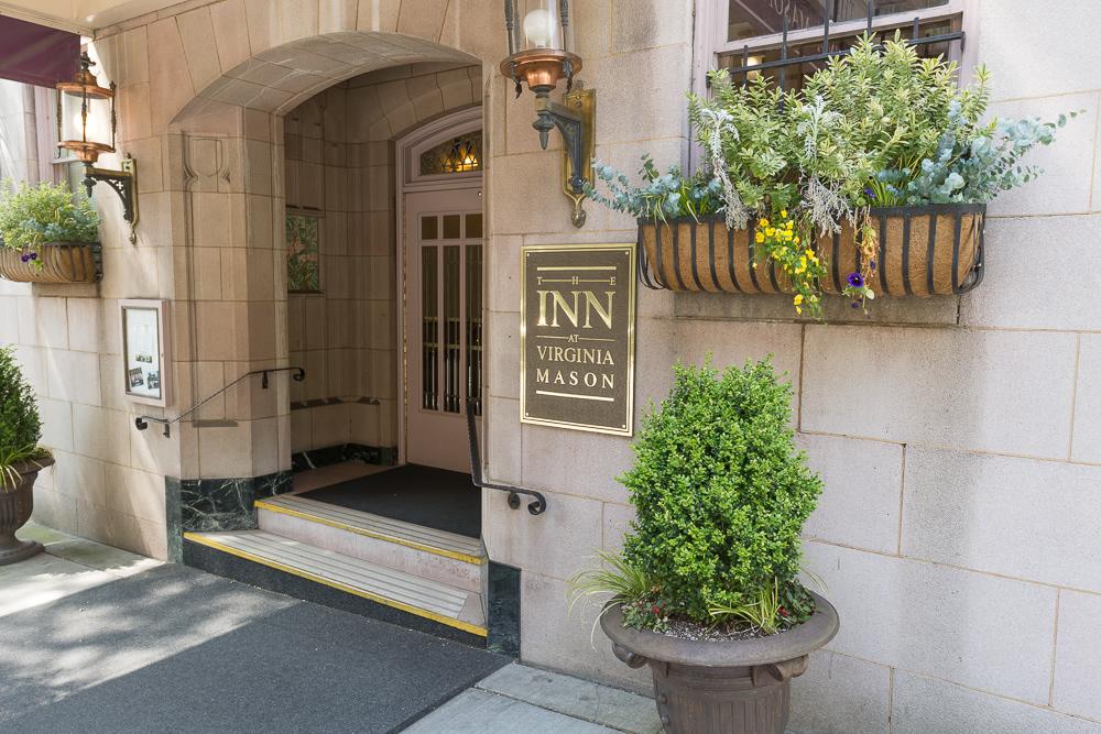 Inn at Virginia Mason front door